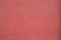 Texture of old wall covered with red stucco Royalty Free Stock Photography