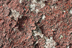 Texture of the old wall with cracks Stock Photos