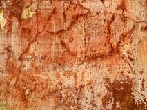 Texture of old wall with cracks. Royalty Free Stock Photo