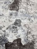 Texture of old wall with cracks and shabby paint. Royalty Free Stock Photography