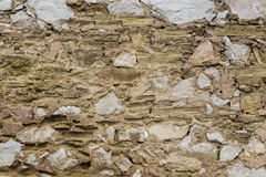 Texture: Old Wall Royalty Free Stock Photography