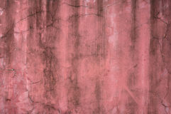 Texture of old wall with pink stucco Stock Photo