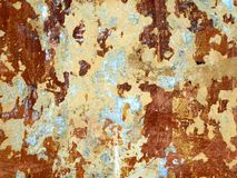 Texture of old wall with a shabby paint Stock Photo