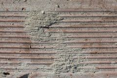 Texture Of Old Weathered Brick in Harsh Direct Sunlight royalty free stock images