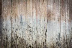 Texture of the old weathered wooden wall background Stock Photos