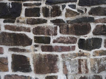 Texture of old and wett rock wall for background Royalty Free Stock Photography