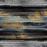 Texture of old wood boards background wallpaper Stock Photography