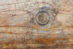 Texture old wood with bough Stock Image