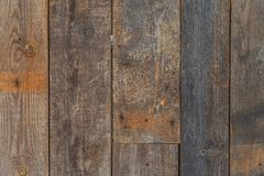 The texture of the old wood. Close up Royalty Free Stock Photo