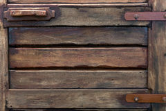 Texture of old wood door Royalty Free Stock Photography