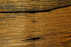 Texture of old wood with grain Royalty Free Stock Images