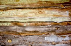 The texture of old wood. Stock Photos