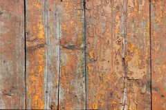 Texture old wood with paint Royalty Free Stock Photos
