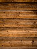 Texture of old wood planks with shabby surface. Flatlay background. stock photos