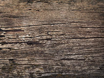 Texture of old wood in the style of grunge as background Stock Images