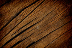 Texture of old wood used as background Stock Photo