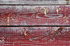 Texture of old wooden boards Stock Photography
