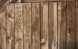 Texture of old wooden boards Royalty Free Stock Photos