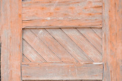 Texture of old wooden door Royalty Free Stock Image