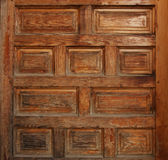 Texture of old wooden door Royalty Free Stock Photos
