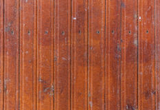 Texture of the old wooden fence Stock Photography