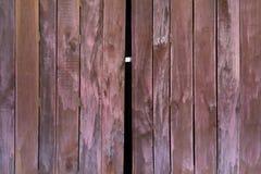 Texture of old wooden folding doors. Texture and pattern of old wooden folding doors Stock Photo