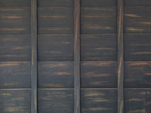 Texture of old wooden pallets Stock Photography