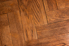 Texture of old wooden parquet Royalty Free Stock Photography