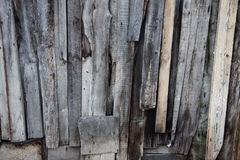 Texture of old wooden planks Royalty Free Stock Photography