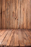 Texture of old wooden planks. Royalty Free Stock Photography