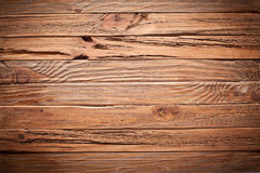 Texture of old wooden planks. Royalty Free Stock Photos