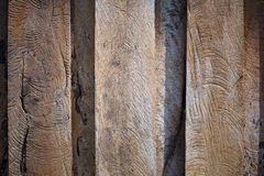 Texture of old wooden Stock Image