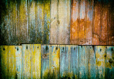Texture of old wooden planks Stock Photo
