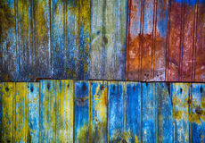 Texture of old wooden planks Stock Images