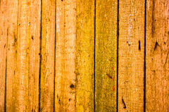 Texture of old wooden planks with cracked and smeared paint Stock Photo