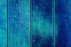 Texture of old wooden planks with cracked and smeared paint Royalty Free Stock Image