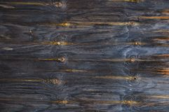 Texture of old wooden planks. Gray yellow color. stock images
