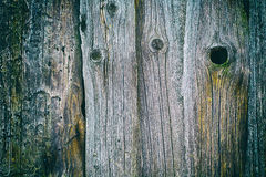 Texture of old wooden planks Royalty Free Stock Photos