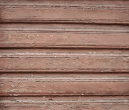 Texture of old  wooden red wall Stock Photo