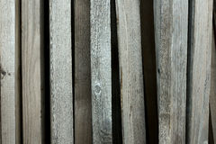 Texture of old wooden slats Stock Image
