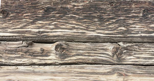The texture of an old wooden wall Stock Photography