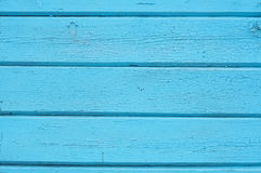 Texture old wooden walls blue Stock Photo