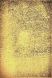 The texture of old yellow paper. Abstract grunge background. Grunge background of old paper for printing on labels, posters, business cards and creating your own Stock Images