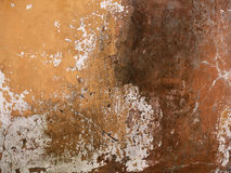 Texture of old yellow stucco wall Royalty Free Stock Photo