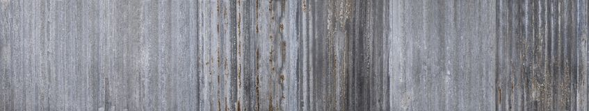 Texture of old zinc surface galvanized rust from the fence next stock photo