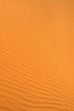 Texture ondulée de dunes de sable Images libres de droits