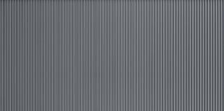 Texture ondulée de mur en métal photographie stock