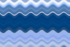 Texture onduleuse bleue de résumé pour le fond illustration de vecteur