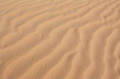 Texture onduleuse de sable image libre de droits