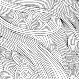 Texture optique de bruit noir au-dessus du fond blanc Photos stock
